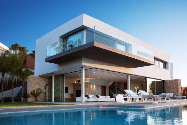 Contemporary villa in Cala Moli, Ibiza