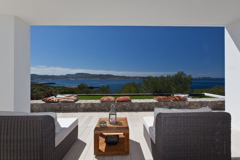 Contemporary villa in Cap Negret, Ibiza