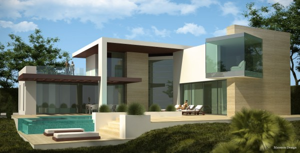 contemporary villa design
