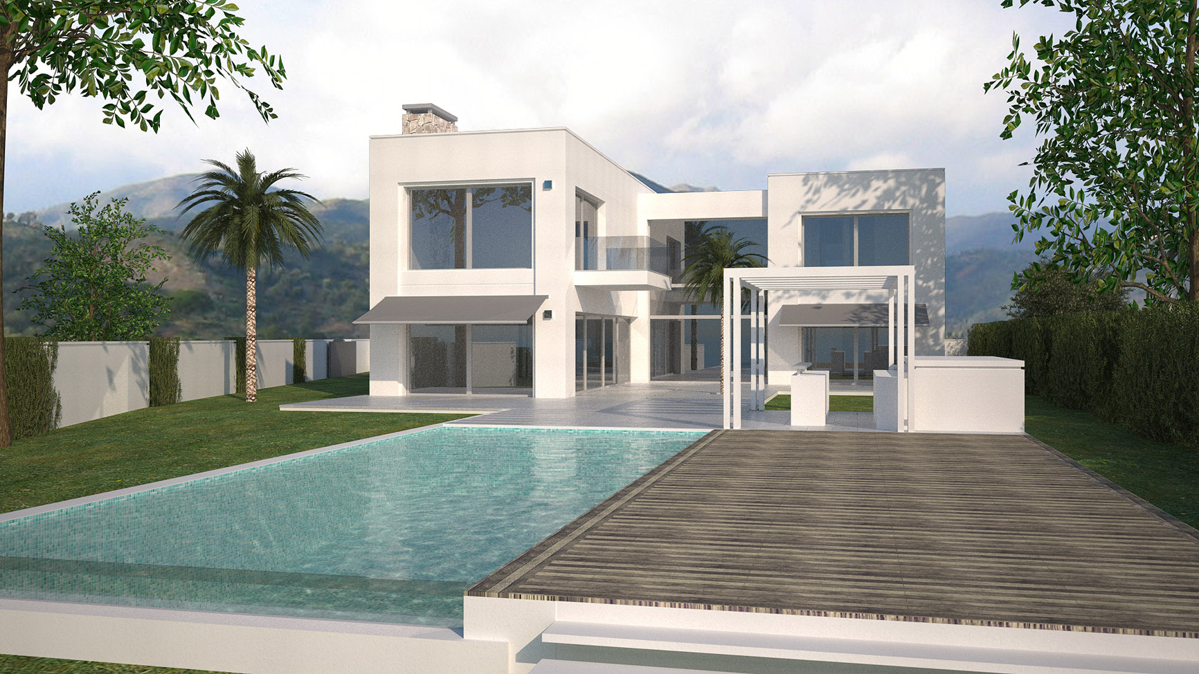 modern villa for sale in Marbesa, Marbella