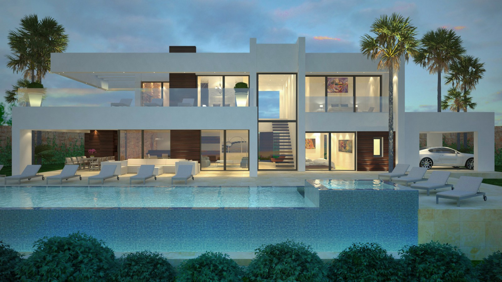 Contemporary villa in La Cerquilla, Marbella