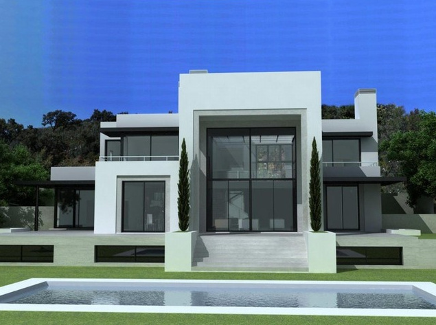 Awesome Villa Moderne Design Contemporary